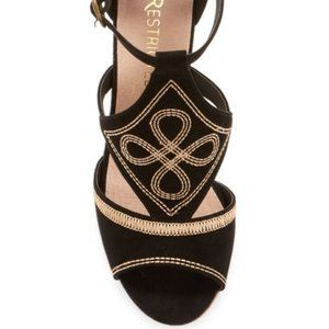 Restricted - Sweet Talk Embroidered Wedge Sandal